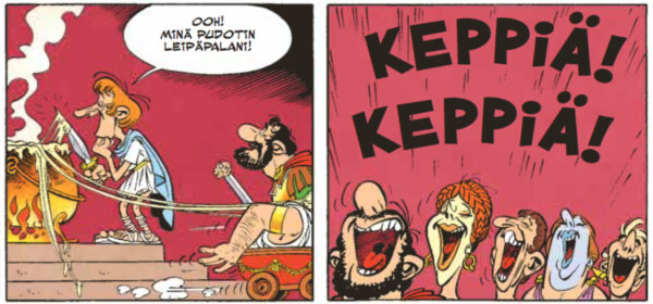 Asterix ja ahneutta alpeilla