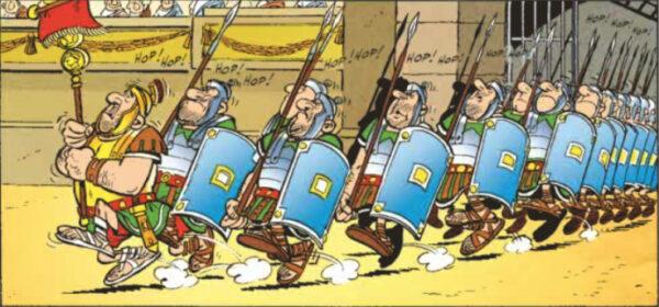 Hulluja nuo roomalaiset!