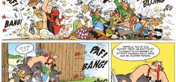 Asterixin ja Obelixin herkkuhetki Amerikassa!