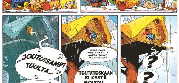 Asterix ja lennokas matka Intiaan