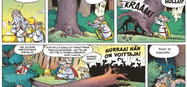 Roppakaupalla rytinää, eli Asterix ja Obelix vs. gootit!
