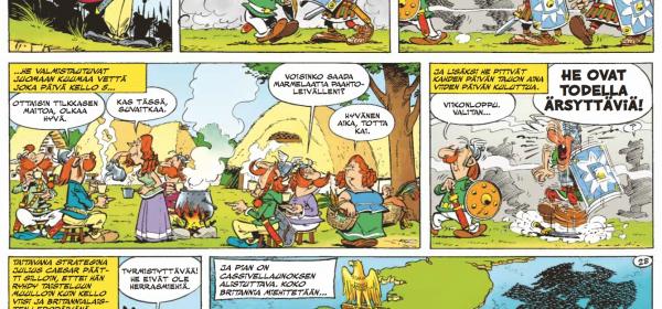 Asterixin ja Obelixin kostein seikkailu?