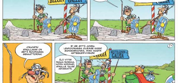Surullisin Asterix