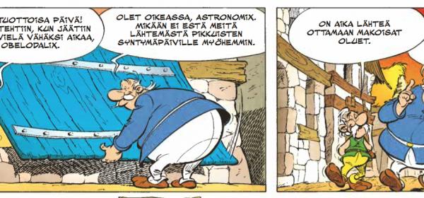 Silmänruokaa ja sitoutumiskammoa ranskalaisittain – Asterix ja Latraviata