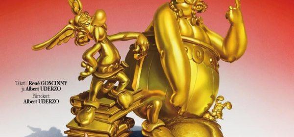 Uusi Asterix, nimi ja kansi on nyt tässä!
