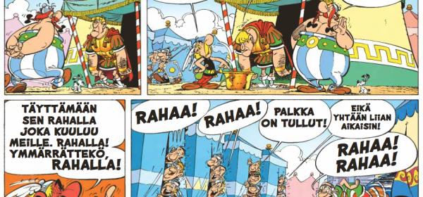 Asterix veronkiertäjän jäljillä