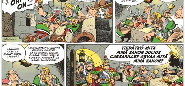 Ajankohtainen, ajankohtaisempi, Asterix!