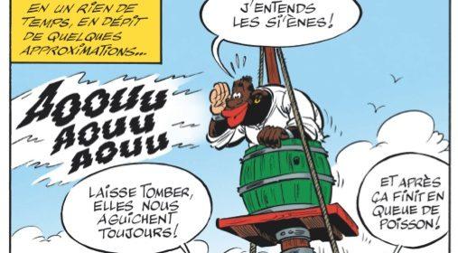 Lokakuun kirkkain sarjakuvatähti : Asterix ja Caesarin papyrus