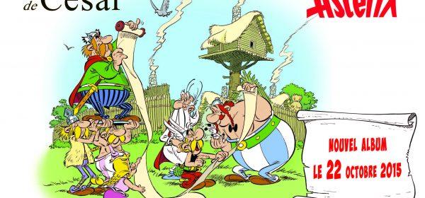 Uuden Asterix-albumin nimi on…