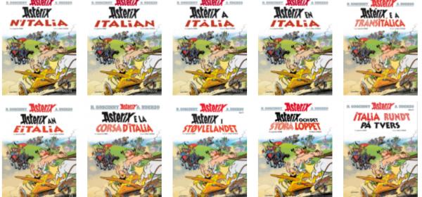 Uusi Asterix torstaina 26.10. Lehtipisteissä ja kirjakaupoissa!