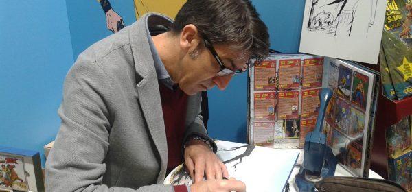 Tex-piirtäjä Pasquale Del Vecchio Helsingissä