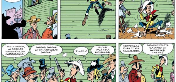 Kirjamessuvinkki: Lucky Luke ja Daltonin sedät!