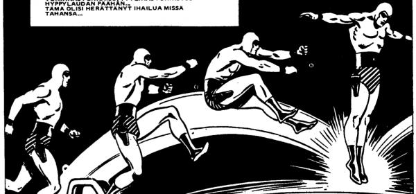 Mustanaamion vuosikerta 1973 hauskuuttaa tosissaan