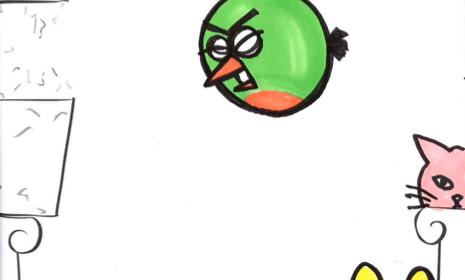 Duudlaa oma Angry Birds ja voita! (päättynyt)