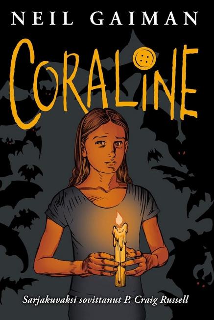 coraline sarjakuva