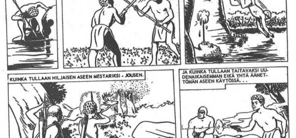 Mustanaamion nimikkotarinat 1966-1967