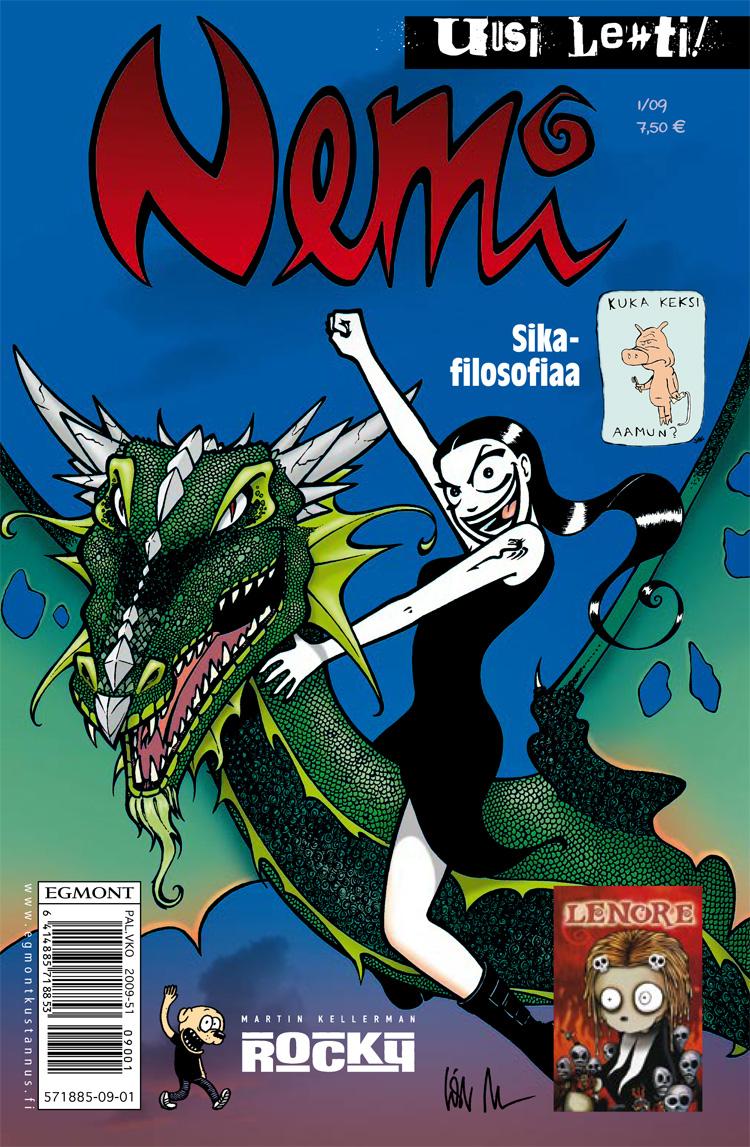 nemi-sarjakuva-lehti