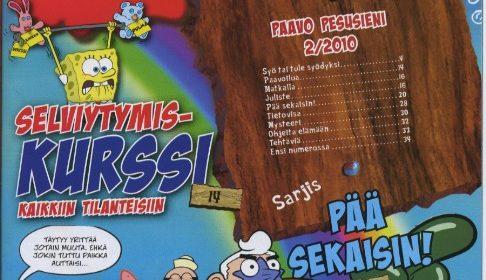Uusi lehti lapsille: Paavo Pesusieni