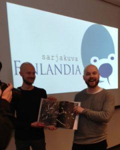 Onnelliset voittajat: Jaakko ja Lauri Ahonen!