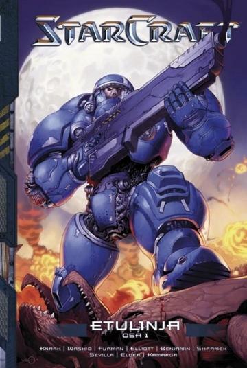 Strategiapeli Starcraft herää henkiin sarjakuvatarinoissa.