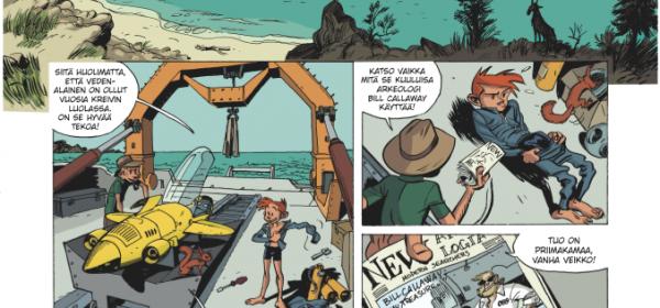 TEMPO 2 – Piko & Fantasio jälleen vauhdissa
