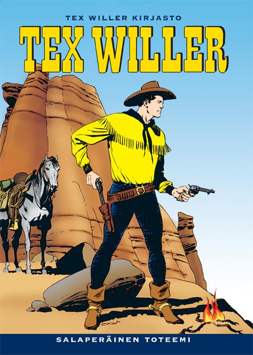 Tex Willer Kirjasto - sarjakuvauutuus lännestä!