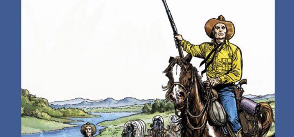 Tex Willer -suuralbumi #25: Karavaani Oregoniin