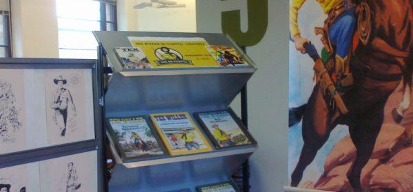 Tex-näyttely Kirjasto 10:ssä!