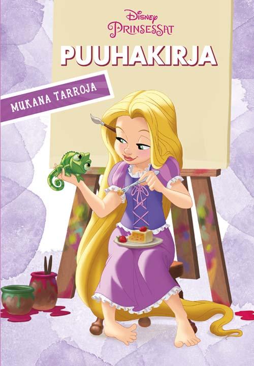 Disney Prinsessat puuha- ja värityskirja