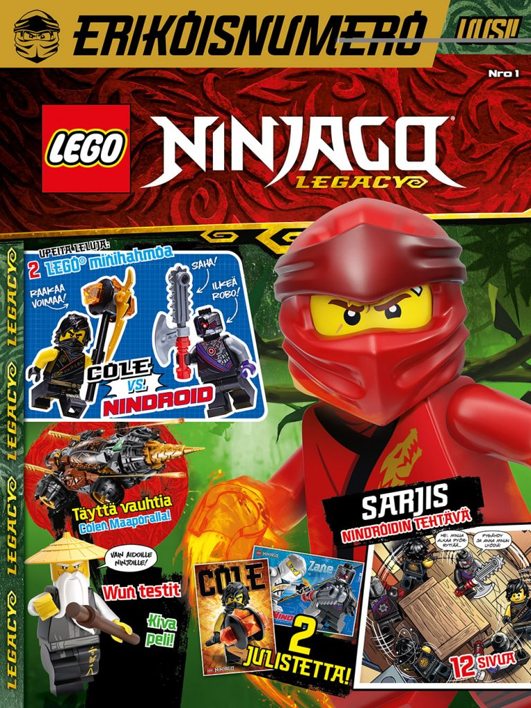 LEGO Extra 02-2020: LEGO Ninjago Legacy 1