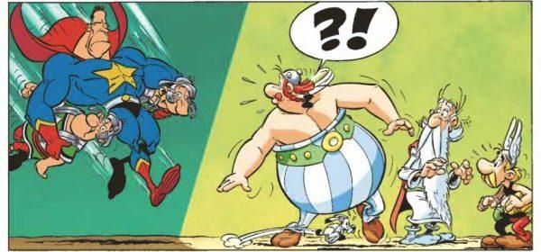 Taivas putoaa niskaan – Asterix kohtaa globaalin sarjakuvan