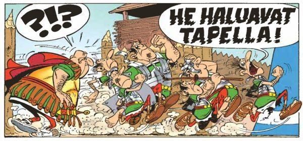 Asterix Belgiassa – hauskuutta suruhunnussa