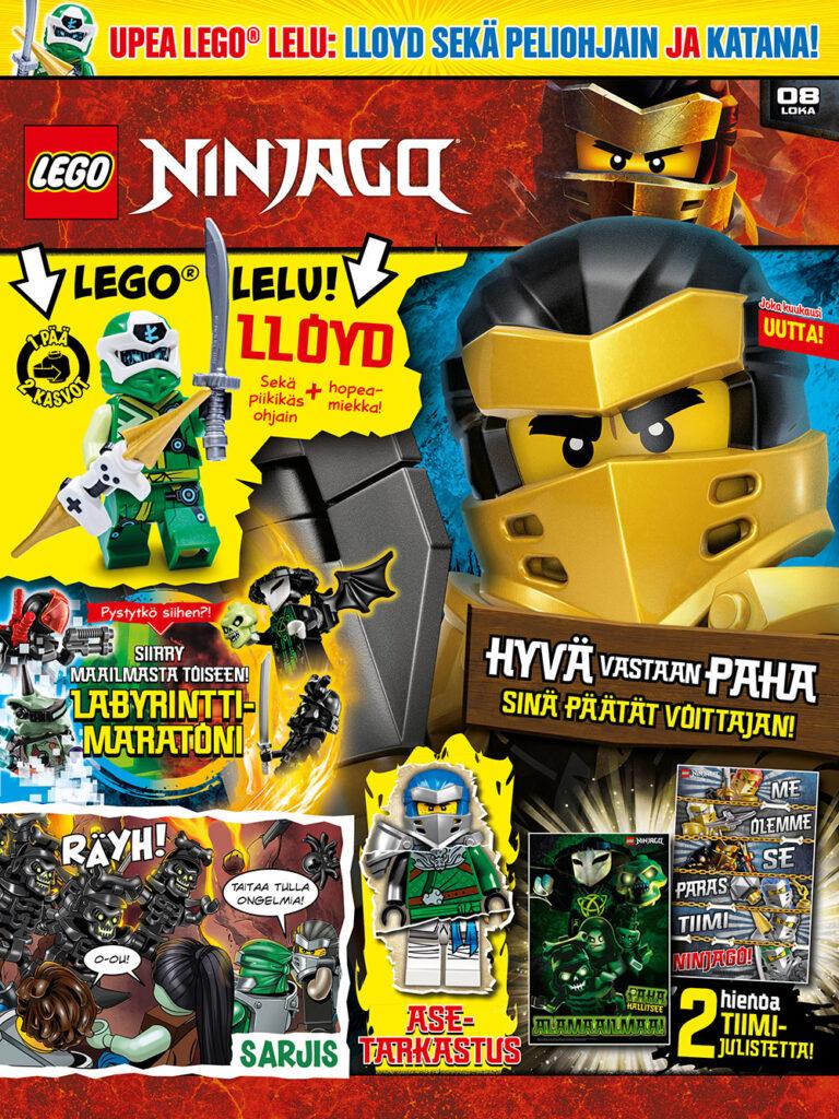 LEGO Ninjago 08-2020