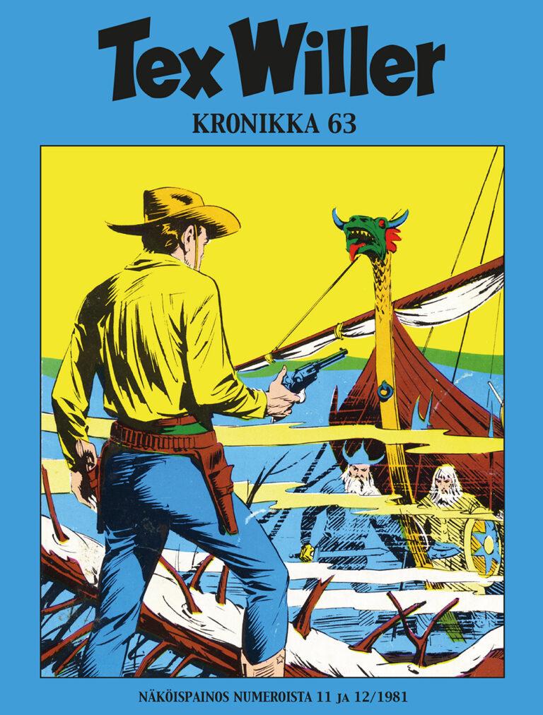 Tex Willer Kronikka #63