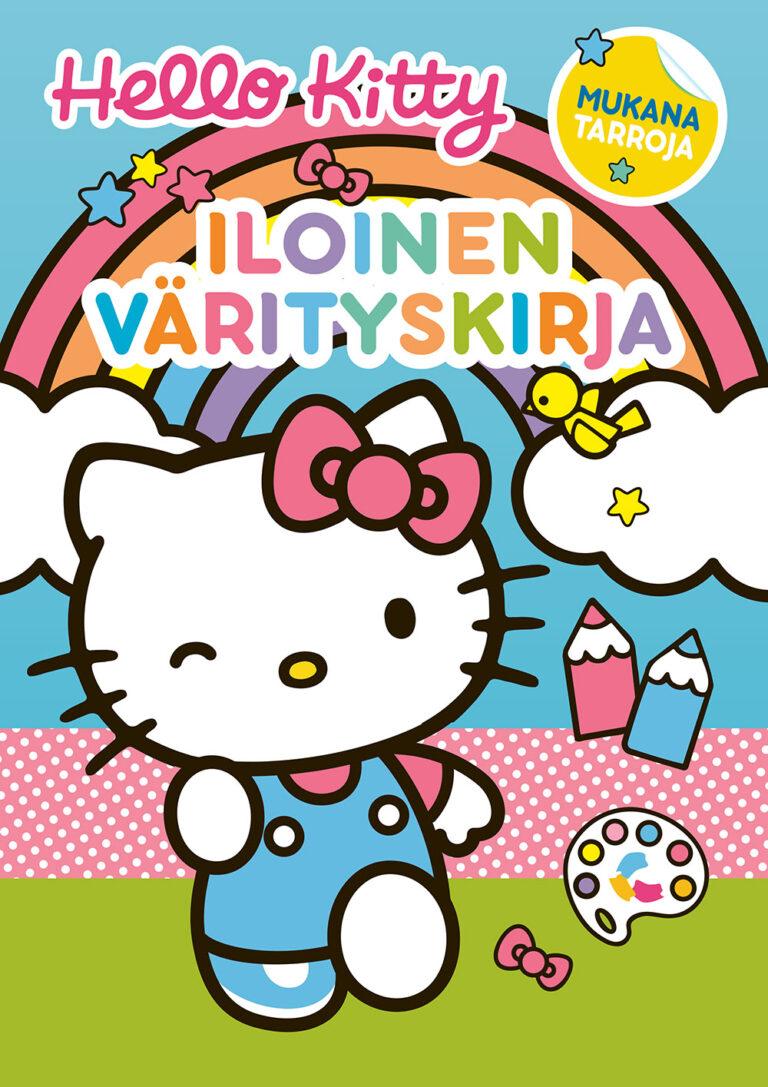Hello Kitty Iloinen värityskirja