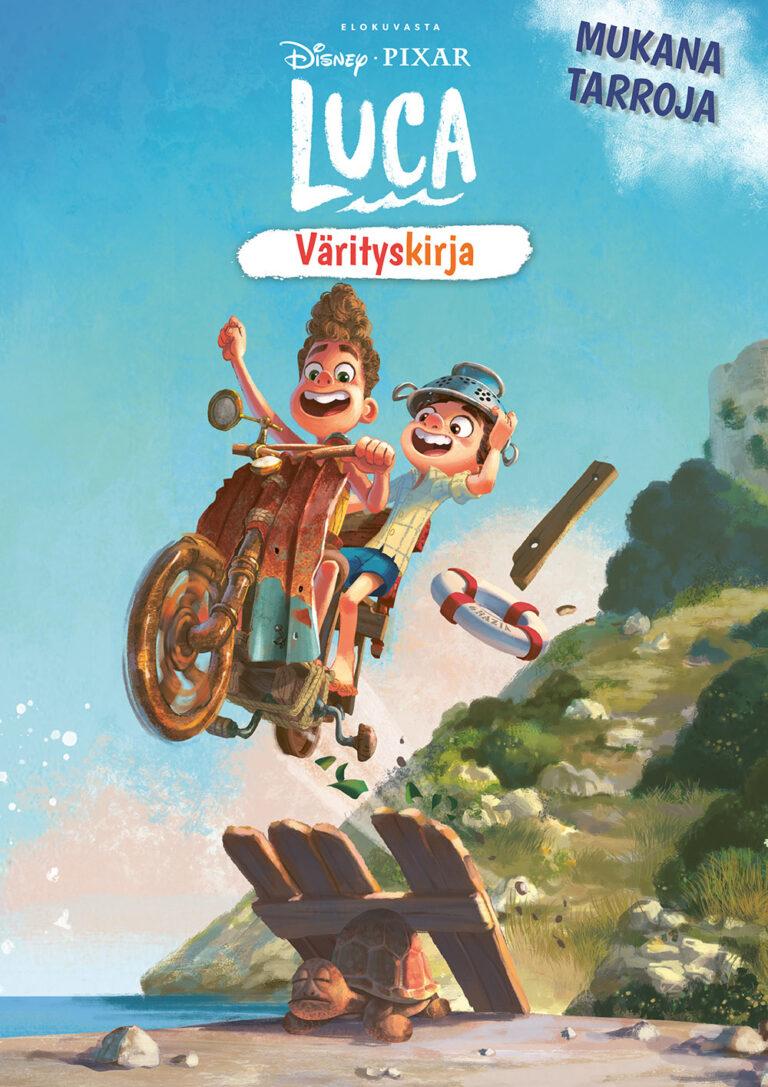 Disney Pixar Luca värityskirja