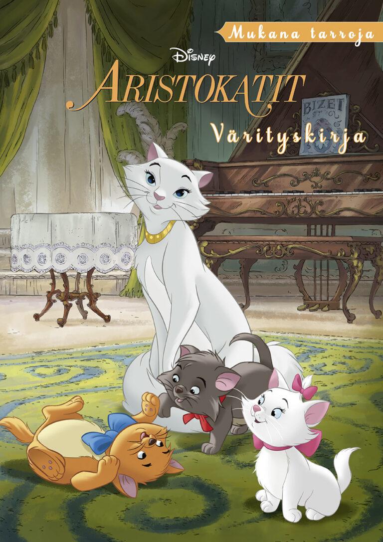 Disney Aristokatit värityskirja