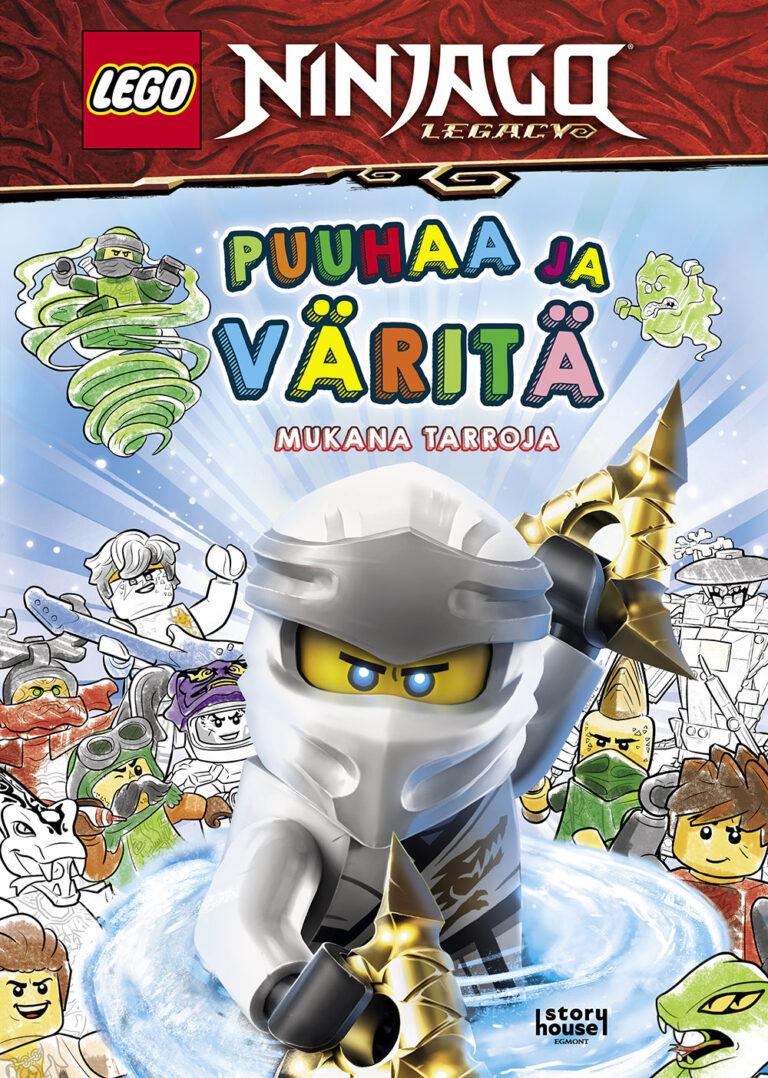 LEGO Ninjago Puuhaa ja väritä