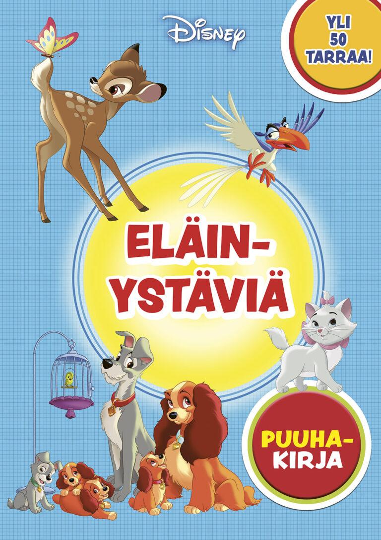Disney Eläinystäviä puuhakirja
