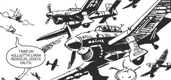 Lentokuumetta ja klassisia hävittäjäkoneita