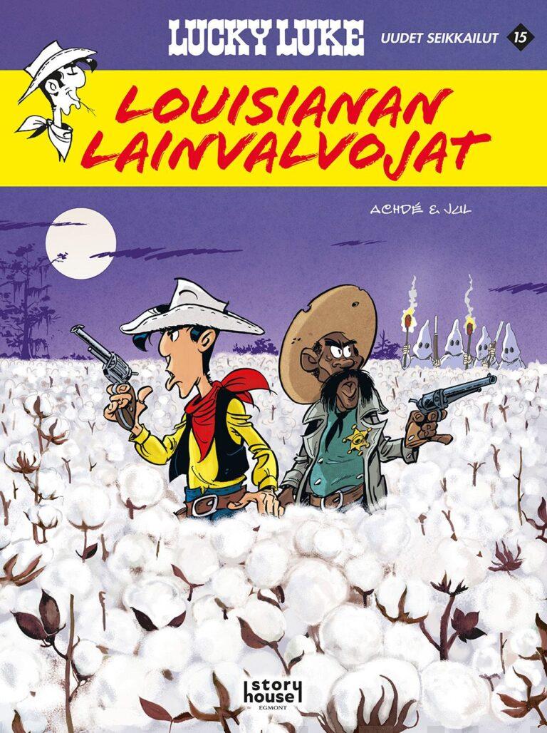 Lucky Luken uudet seikkailu 15: Louisianan lainvalvojat