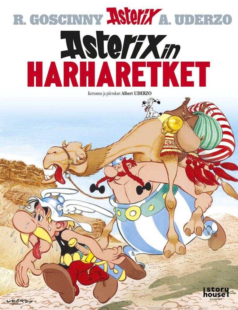 Asterixin harharetket (kovat kannet)