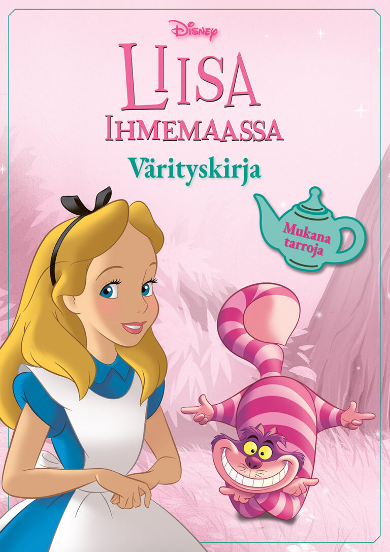 Disney Liisa ihmemaassa värityskirja
