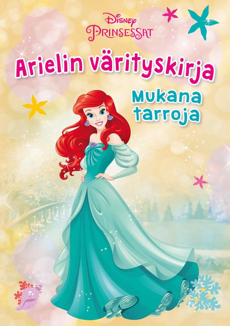 Disney Prinsessat Arielin värityskirja
