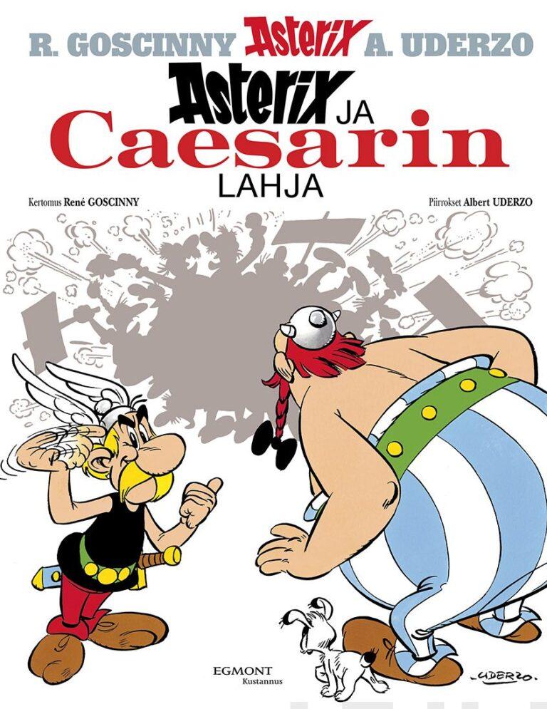 Asterix #21: Caesarin lahja (pehmeät kannet)