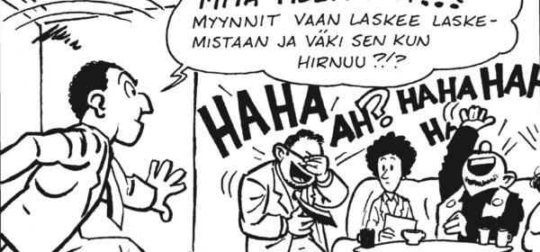 Viime vuonna Frankfurtissa – sarjakuvaduunarin arki on harmaa