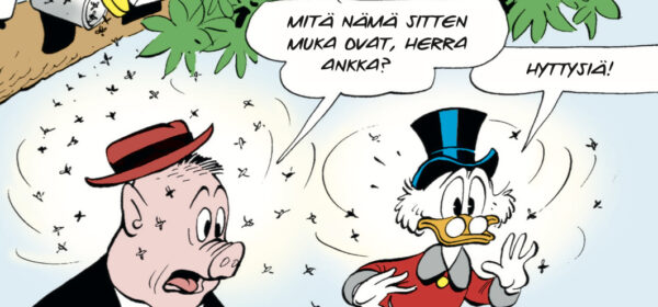 Carl Barks pelastaa sadepäiväsi!