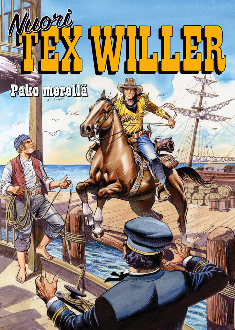 Nuori Tex Willer 07-2021