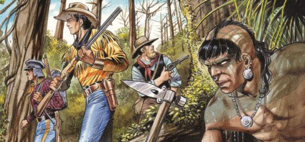 Nuori Tex Willer seminolien mailla