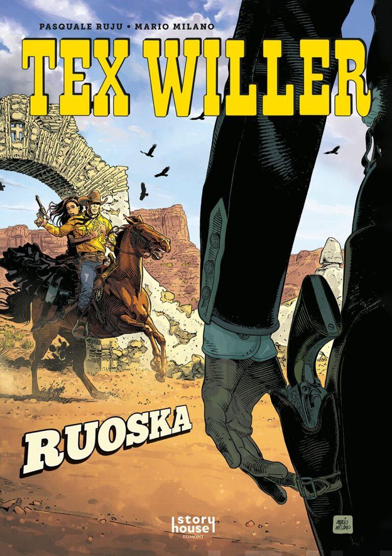 Tex Willer Värialbumi #1: Ruoska